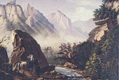 Перестрелка в горах Дагестана. 1840—41 г.)