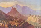 Вид Тифлиса. 1837 г.)