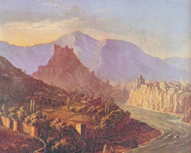 Рисунок горы